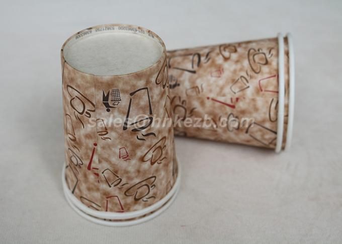 250ml Insulated Disposable Coffee Cups Customized 9oz For Hot / Cold Drink