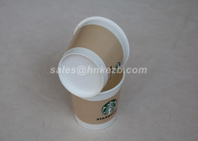 16oz - 22oz Disposable Hot Beverage Cups , To Go Coffee Cups With Lids For Drinking