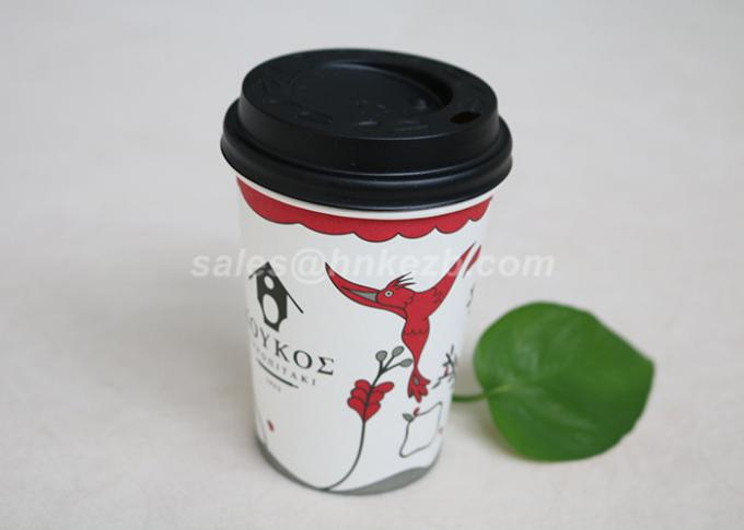 4OZ - 22OZ Custom Printed Coffee Paper Cups With Sleeve For Milk / Espresso