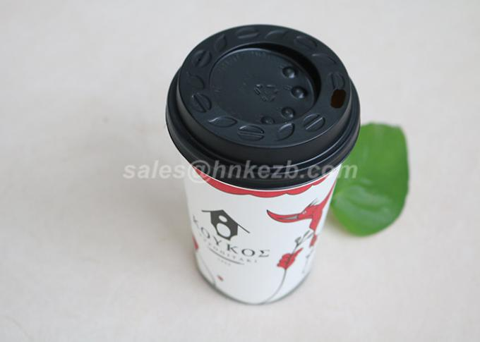 To Go Insulated Disposable Coffee Cups With Lids For Party / Wedding