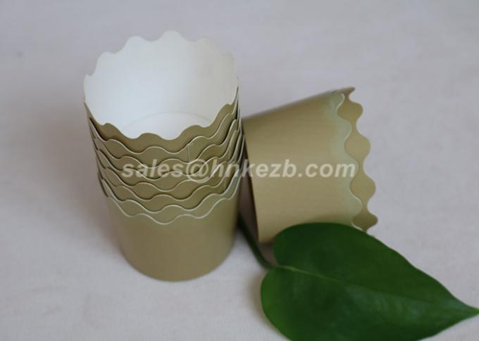 Small Disposable Cupcake Paper Cups / Frozen Paper Yogurt Cups 12 Oz 390ml