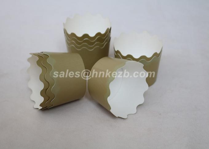 4oz Cupcake Paper Baking Cups , Paper Ice Cream Containers Disposable