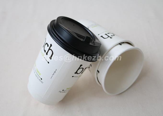7oz Disposable Custom Printed Paper Coffee Cups Double Wall Material