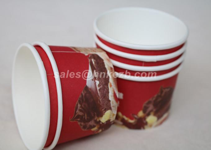 Take Out Vending Paper Cups , Insulated Hot Coffee Cups For Public Place