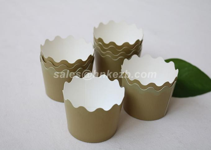 Individual Small Paper Cake Box , Cupcake Baking Cups For Baked Goods