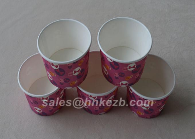 12oz Biodegradable Custom Printing Disposable Ice Cream Bowls Paper Ice Cream Cup