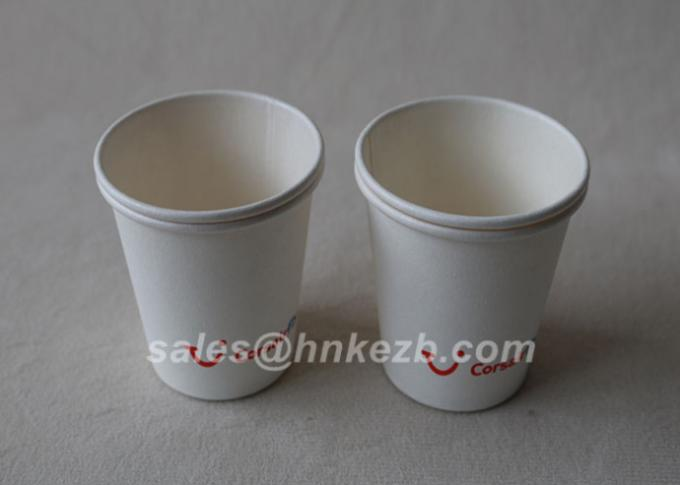 Single Wall Food grade Paper Cups for Cold Drinks / Juice 7oz