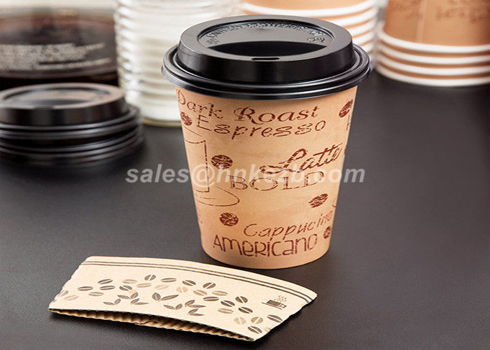 Disposable Reusable Coffee Cup Sleeves / Coffee Cup