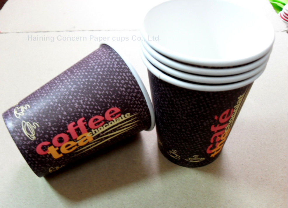 Different Sizes Takeaway Coffee Cups Disposable Insulated Paper Cups